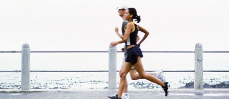 Slank av jogging